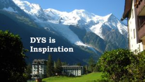 DYS is Inspiration @ Chamonix